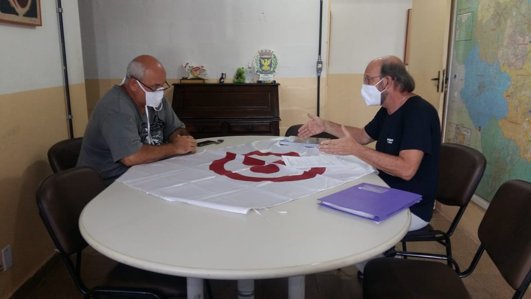 Reunião com o Prof. Chinês - Diretor de Esportes de Campinas e Prof. Lino