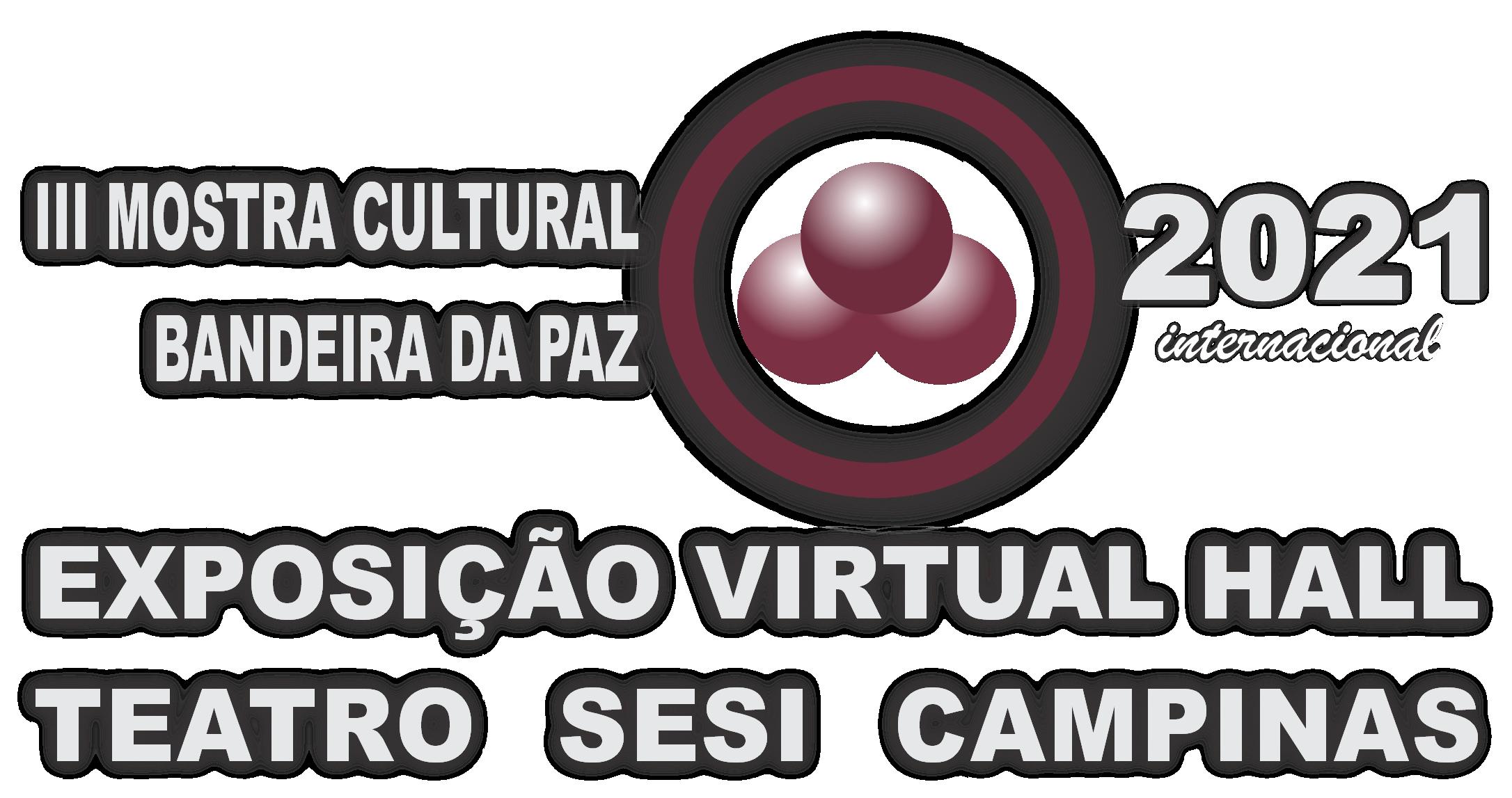 Logo EXPOSICAO VIRTUAL Bandeira da Paz 2021_3